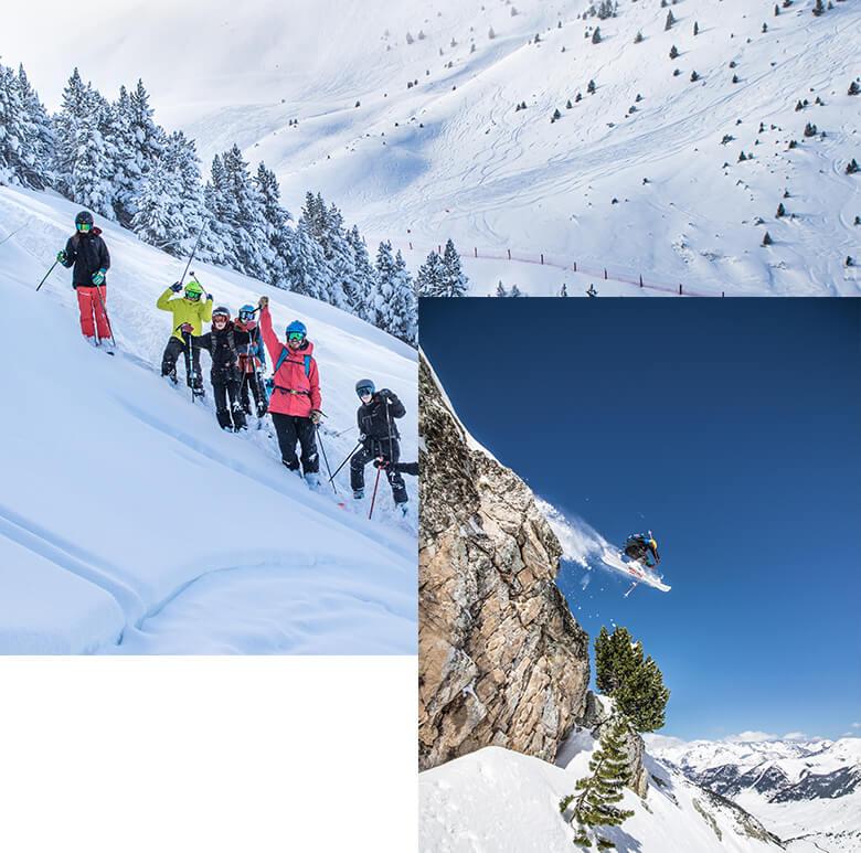 Escuela de esquí y snowboard