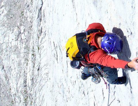 Escalada clasica en pirineos con guia